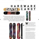 Cooler issue 43 - Hardware Candy Snowboard Review Gear Guide Board Test