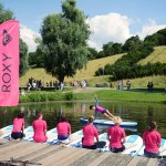 Roxy SUP Yoga – Olympiapark – photo: Conny Marshaus