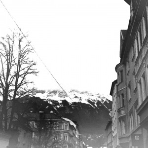 Gifted Time in Innsbruck Sightseeing on Globe Bantam Cruiser longboard