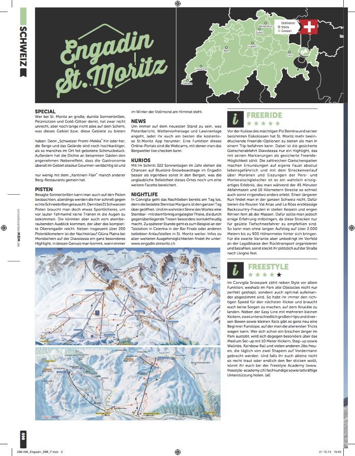 MBM Resort Special 2013-14 St Moritz Engadin ski resort review
