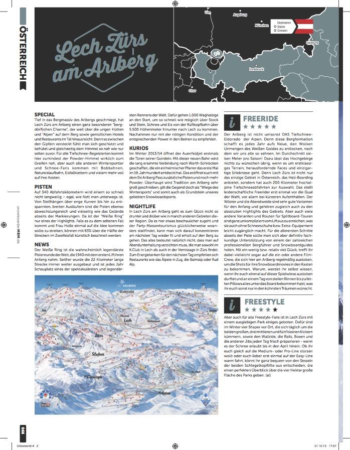 MBM Resort Special 2013-14 Lech Zuers Arlberg ski resort review