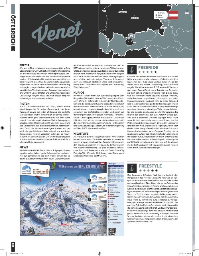 MBM Resort Special 2013-14 Venet Landeck Zams ski resort review
