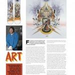 Onboard European Snowboard Magazine Issue 116 - Art Page - Mike Parillo Travis Rice Pro Model Lib Tech Snowboards