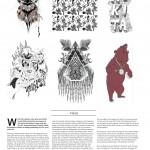 Onboard European Snowboard Magazine Issue 127 - Art Page - Nikita Clothing Snowboard Outerwear