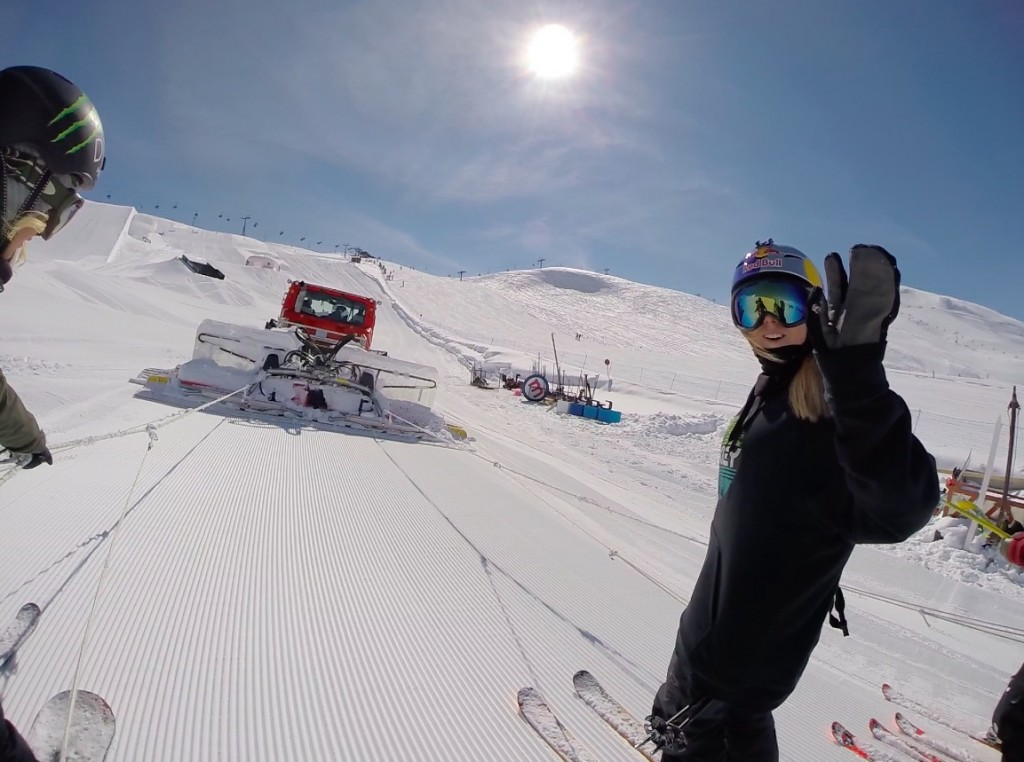 GoPro & Nine Queens in Livigno - Cat Lift with the Girls