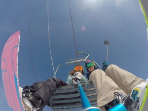 GoPro & Nine Queens in Livigno - Lift with Grete Eliassen