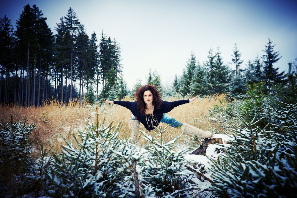 Wintersport Yoga - Home Practice - Skandasana