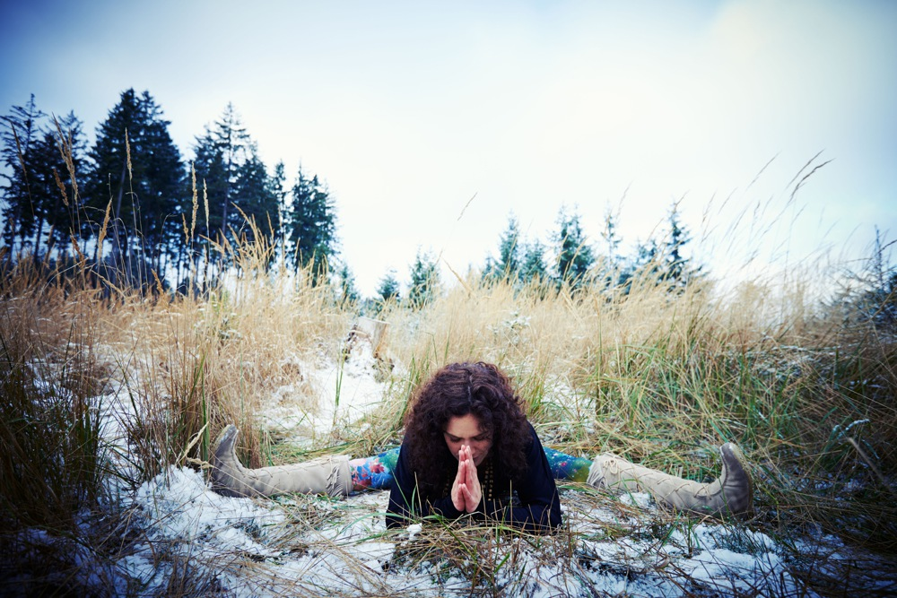 Wintersport Yoga - Home Practice - Upavishta Konasana