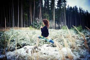 Wintersport Yoga - Home Practice - High Lunge