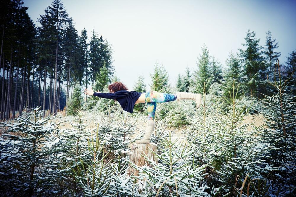 Wintersport Yoga - Home Practice - Virabhadrasana 3