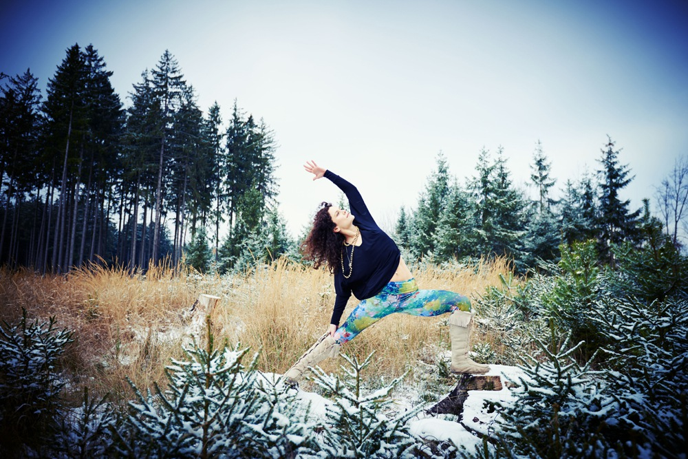 Wintersport Yoga - Home Practice - Parsva Virabhadrasana 2