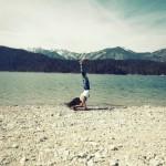 Surf Yoga Sequence – Pincha Mayurasana – photo: Conny Marshaus