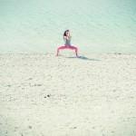 Malasana Garuda Mudra – Polaroid – photo: Conny Marshaus