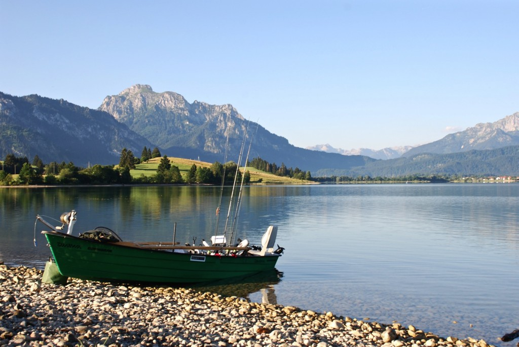 WeekendREcharge, Alpside Fishing, Forggensee, Bavaria, bayern, lakes, seen, anna kathalina langer