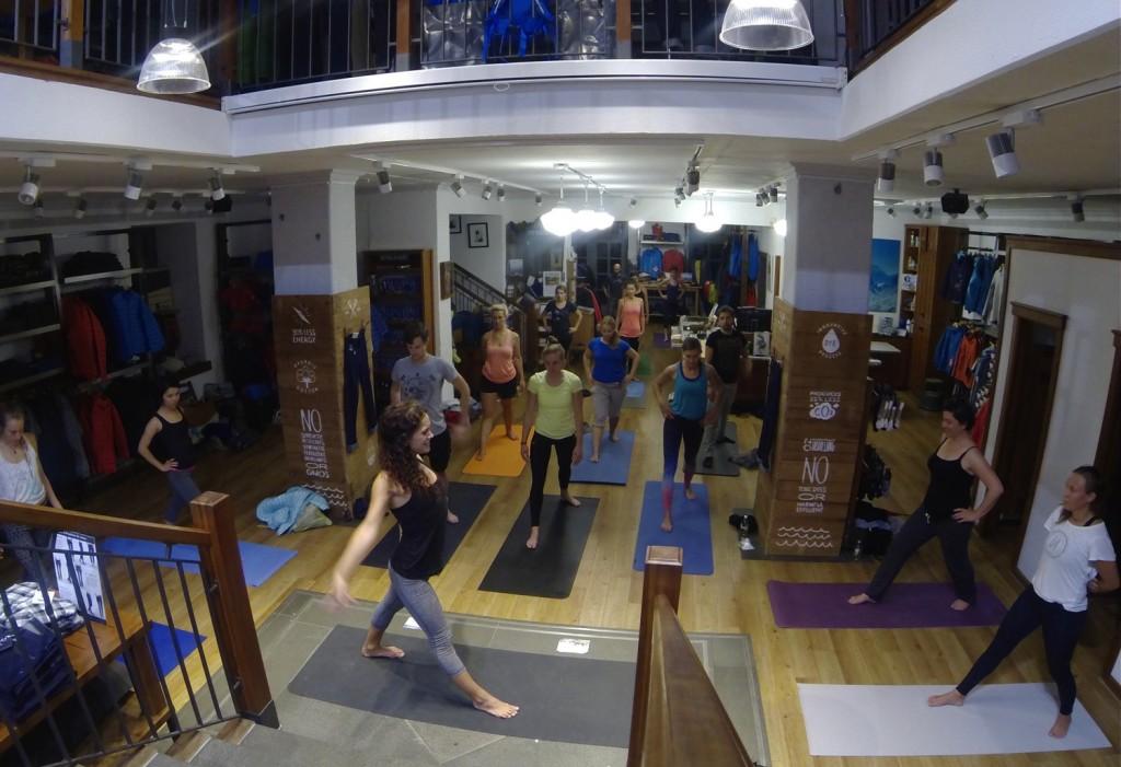 Patagonia Yoga München Munich Free Yogaclass from Patagonia Shop-Yoga Anna Kathalina Langer