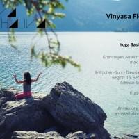 Neuer Kurs: Yoga Basics