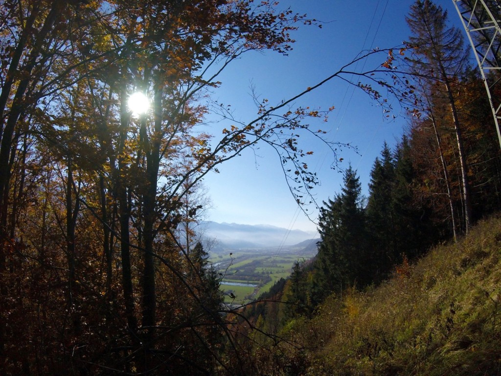 Autumn Hike Inntal Valley Jenbach Karwendel View