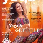 Yoga Aktuell Oktober/November 2015 Cover mit Anna Kathalina Langer, Foto von Christian Krinniger